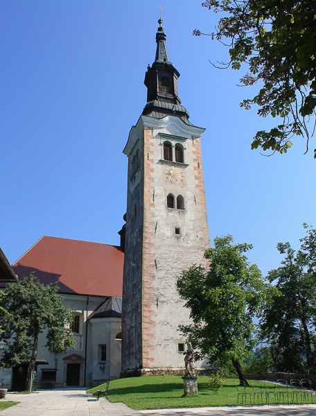 A view of the Bell Tower.
