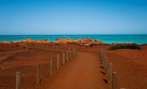 We drove our rental car from Alice Springs in the Northern Territory to Broome in Western Australia. We would've missed out on this view if we wouldn't have used iMoova.