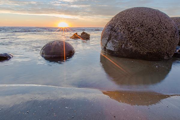 Boulders or dinosaur eggs? It's up for debate.