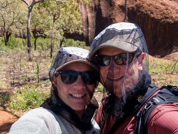 We have never ever experienced flies like we did in the Northern Territory. There would be dozens of flies on us at once and if we didn't have nets on they would be in our eyes, ears, mouths, and noses. So gross!