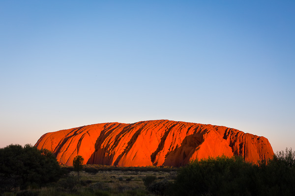 Uluṟu Sunset
