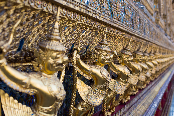 Just a small taste of the intricate detailing that the Grand Palace offers.