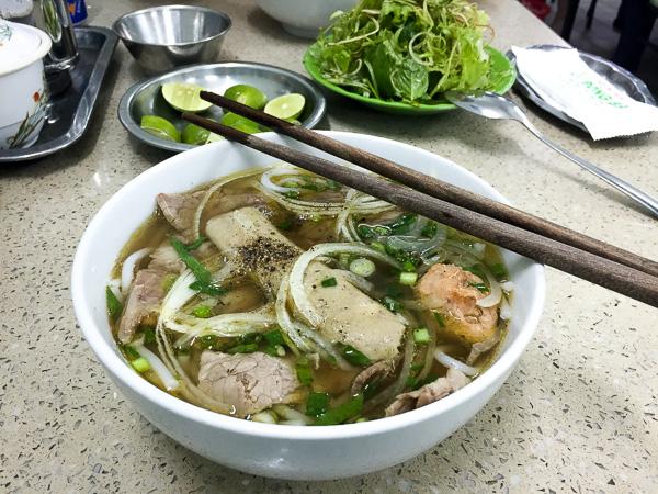 Bun Bo Hue, aka Sarah's favorite Vietnamese food.