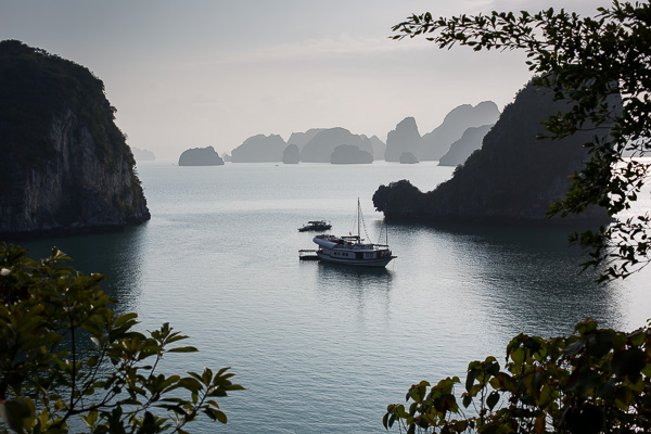 The majestic Halong Bay.