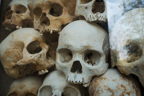 Just a few of the millions of people that Pol Pot and his Khmer Rouge killed during their rule in the 1970s.